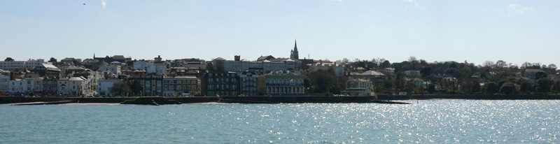 Ryde photographed from the pier © Claire Kay